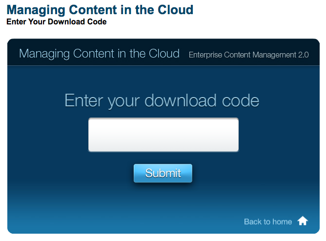 ECM Cloud Book App